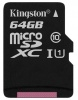 Micro Secure Digital XC/10 64Gb Kingston Canvas Select